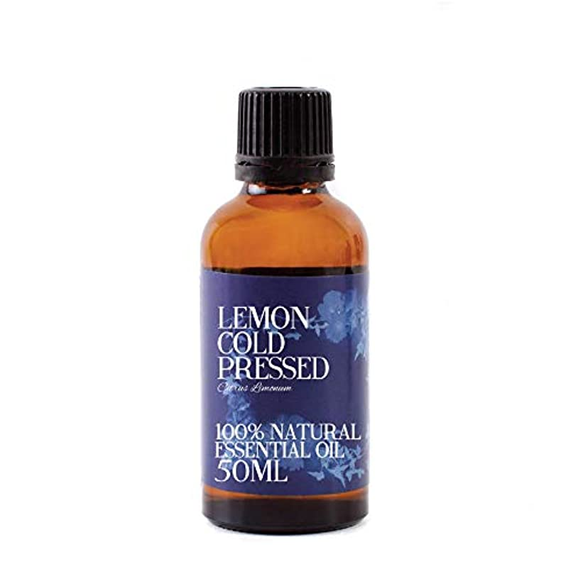 ハイジャック遺伝的支配的Mystic Moments | Lemon Cold Pressed Essential Oil - 50ml - 100% Natural