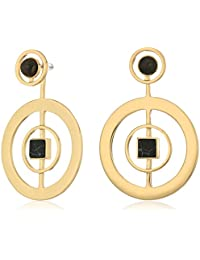 Danielle Nicole Albers Hoop Earrings