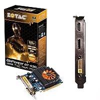 新しいZotac zt-40602–10l GeForce 430グラフィックスカード700MHzコア1GB ddr3SDRAM PCI Express 2.0x16