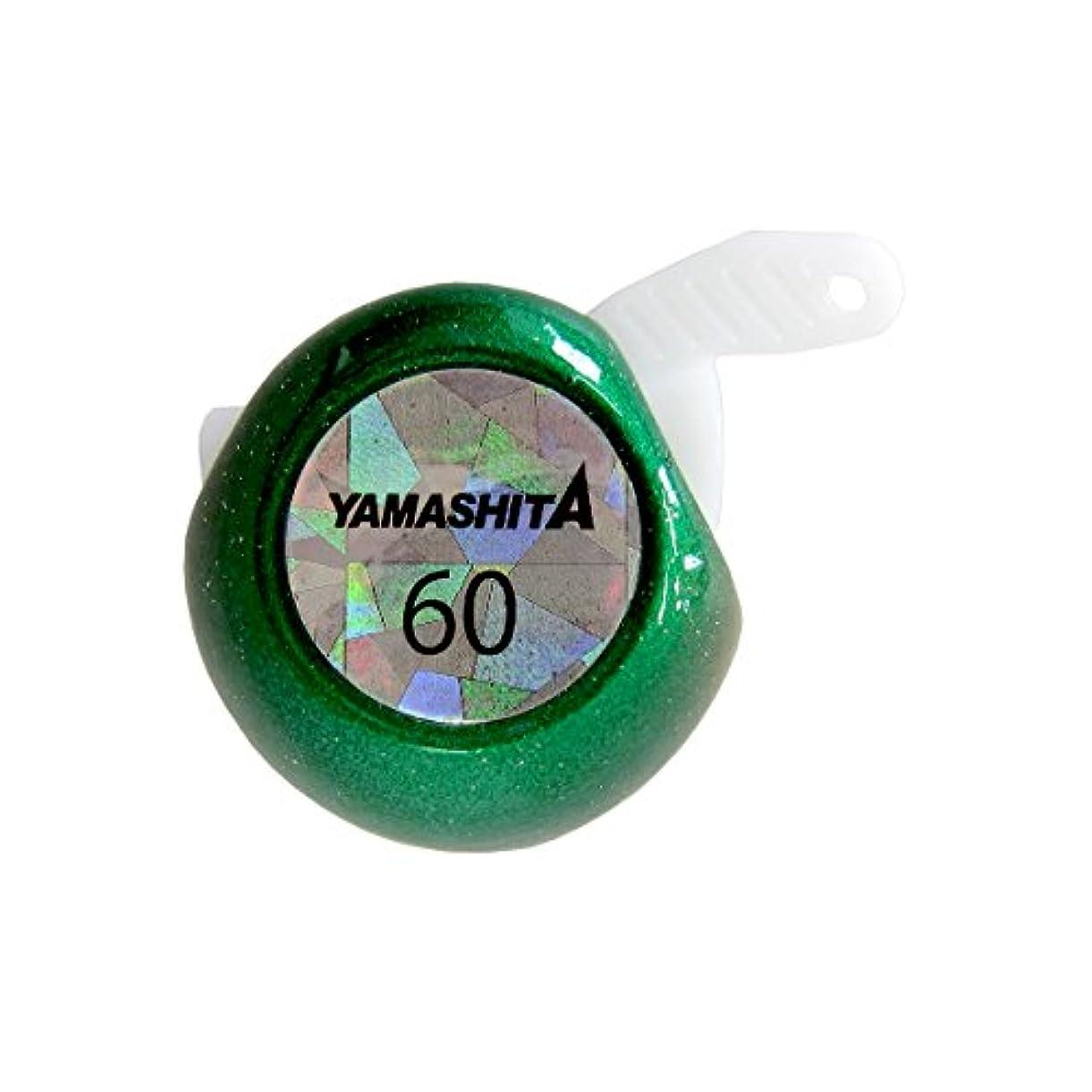 コンソール放射性マットレスヤマシタ(YAMASHITA) タイラバ 鯛歌舞楽 替玉 60g グリーン #05 メタルジグ ルアー