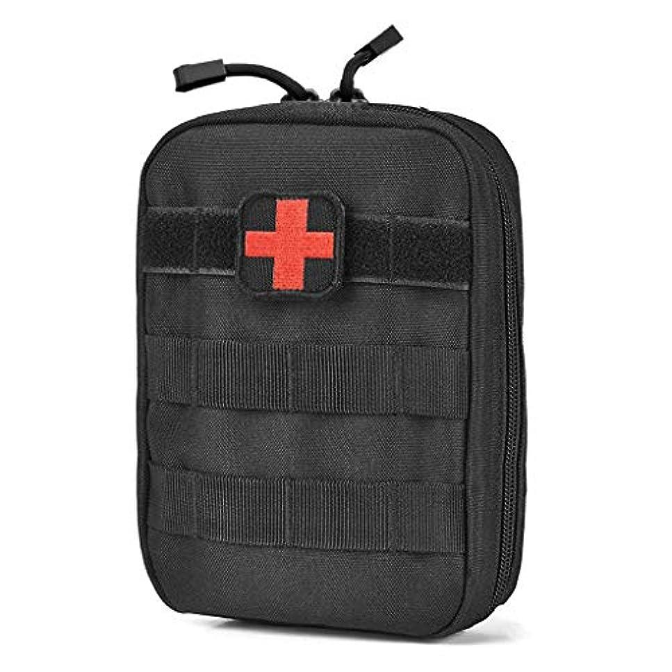 万一に備えて祖父母を訪問国旗Xuping shop 旅行救急箱医療バッグ、多機能ウエストパックキャンプクライミング緊急事件サバイバルキット