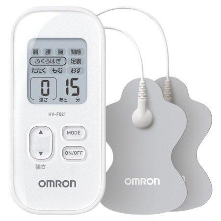 オムロン 低周波治療器 ホワイトOMRON HV-F021-W