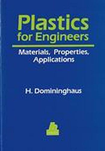 Download Plastics for Engineers: Materials, Properties, Applications (Hanser Publishers) 3446157239
