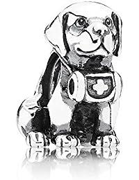 PANDORA Charms Sterling Silver Original Saint Bernard Dog Charm