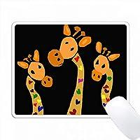ハーツプリミティブアートでファニーキリン PC Mouse Pad パソコン マウスパッド