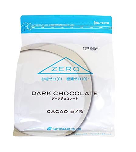 大東カカオ ZERO 砂糖ゼロ(0)・糖類ゼロ(0) カカオ分57% ダークチョコレート 1kg
