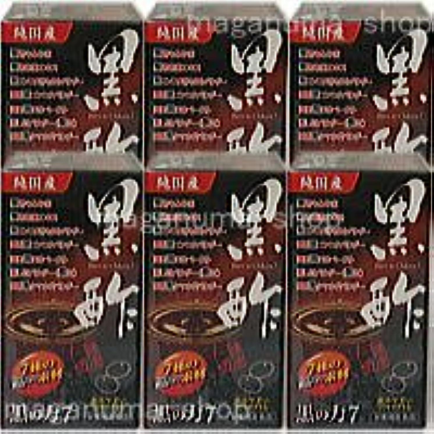 キノコお客様真似る黒の力7(旧 黒酢の力) 6個