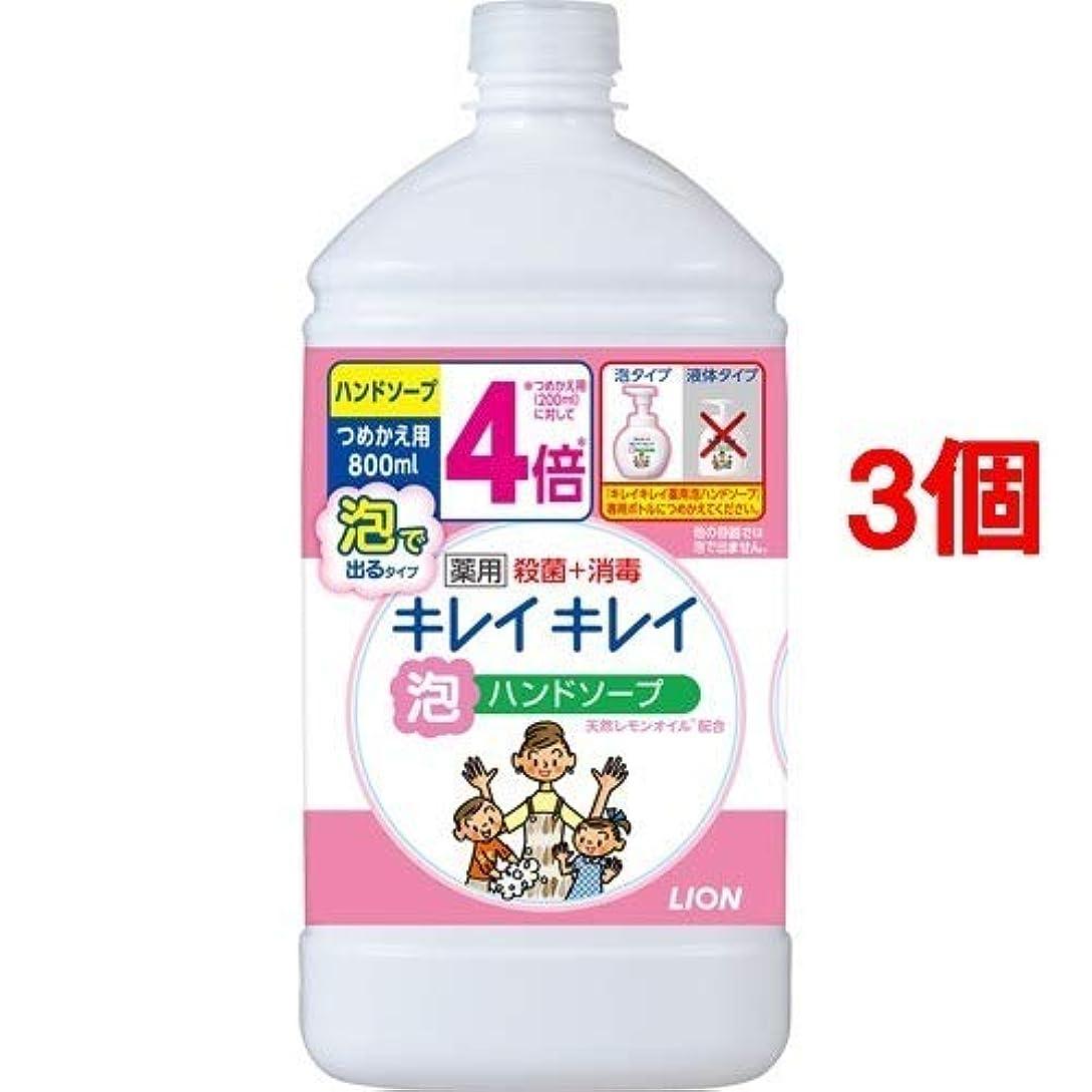 水素予防接種するようこそキレイキレイ 薬用泡ハンドソープ シトラスフルーティの香り 詰替用(800mL*3個セット) 日用品 洗面?バス用品 ハンドソープ [並行輸入品] k1-62563-ak