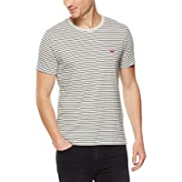 Levi's Men's Ss Classic Hm Tee Walk T-Shirts, Gray Violet/Black