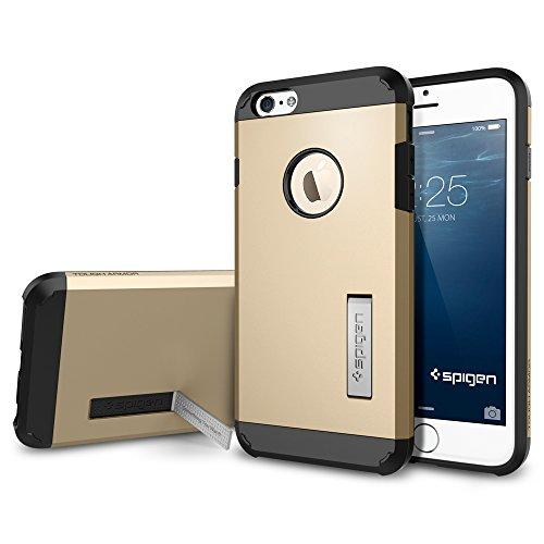 iPhone 6 plus ケース, Spigen® [エアクッションテクノロジー] タフ・アーマー Apple iPhone (5.5) アイフォン 6 プラス カバー (国内正規品) (シャンパン・ゴールド 【SGP10916】)