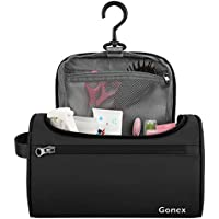 Gonex Toiletry Bag Travel Organizer Black