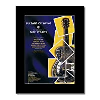 DIRE STRAITS - Sultans of Swing Matted Mini Poster - 28.5x21cm