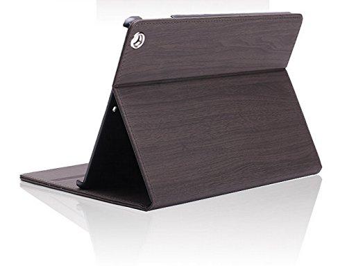 【全5色】 Apple iPad Air 専用 スマート ケース 超薄型 最軽量 スタンド アイフォン (iPad Air_黒)