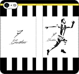 iPhone/Xperia/Galaxy/他機種選択可:サッカー/グラフィティ/へのへのもへじタッチ手帳ケース(デザイン:トリノ/7番_03) 14 全機種対応用【Mサイズ】