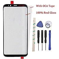 携帯電話の修理の交換のための外側スクリーンのフロントガラスレンズパネル Galaxy S8 /S8 edge G950 G950F G950FD G950W G9500 G950A G950P G950T G950U G950V 5.8 inch (液晶なし、デジタイザーなし) With OCA Tape