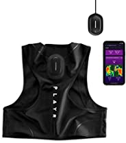 PLAYR Football GPS Tracker - GPS Vest and App to Track and Improve Your Game - for iPhone and Android (L)