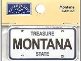 Mini Licence Plate - Montana