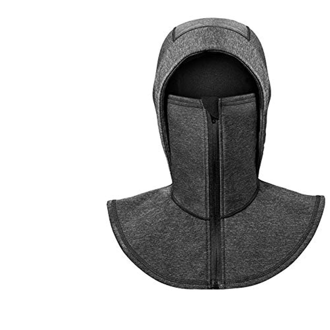 ストライド子豚ラフコールドマスク冬防風フリースウォームフードライディングマスク襟襟屋外オートバイフルフェイスネック