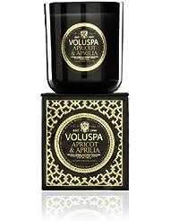 Voluspa ボルスパ メゾンノワール ボックス入りグラスキャンドル アプリコット&アプリリア MAISON NOIR Box Glass Candle APRICOT & APRILIA