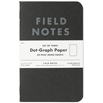 FIELD NOTES フィールドノート 3-PACKS PITCH BLACK [FB014]