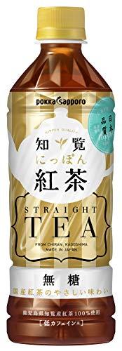 ポッカサッポロ 知覧にっぽん紅茶 500ml×24本