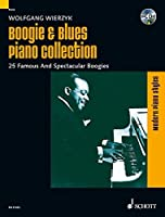 Boogie & Blues Piano Collection: 25 Famous And Spectacular Boogies. Klavier. Songbook mit CD.