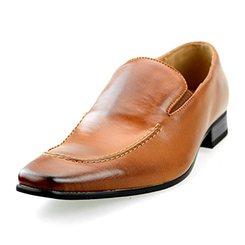 世論調査賃金船乗り[エムエムワン] MM/ONE ビジネスシューズ ドレスシューズ メンズ 紳士靴 革靴 【AZ52B】 全4色 ブラック ブラウン ダークブラウン ホワイト
