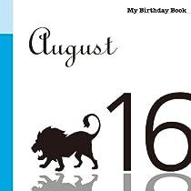 8月16日 My Birthday Book