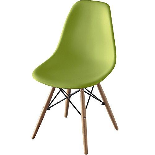 椅子 イームズチェア グリーン PP-623