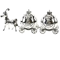 Silverplated Cinderella Carriage First Curl & Tooth (Dispatched from UK) by Widdulph