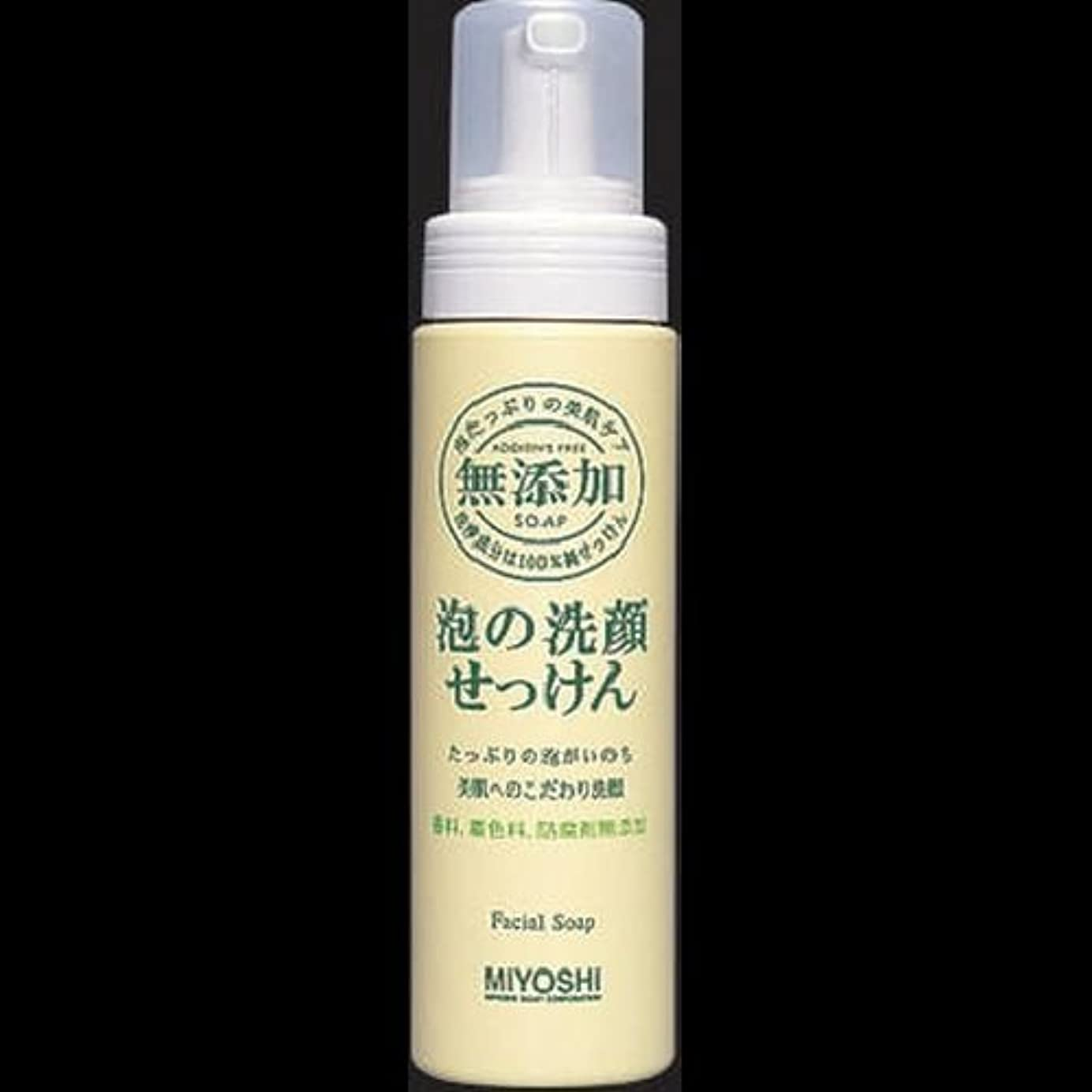 フレアアピールグリット【まとめ買い】ミヨシ 無添加 泡の洗顔せっけん ×2セット
