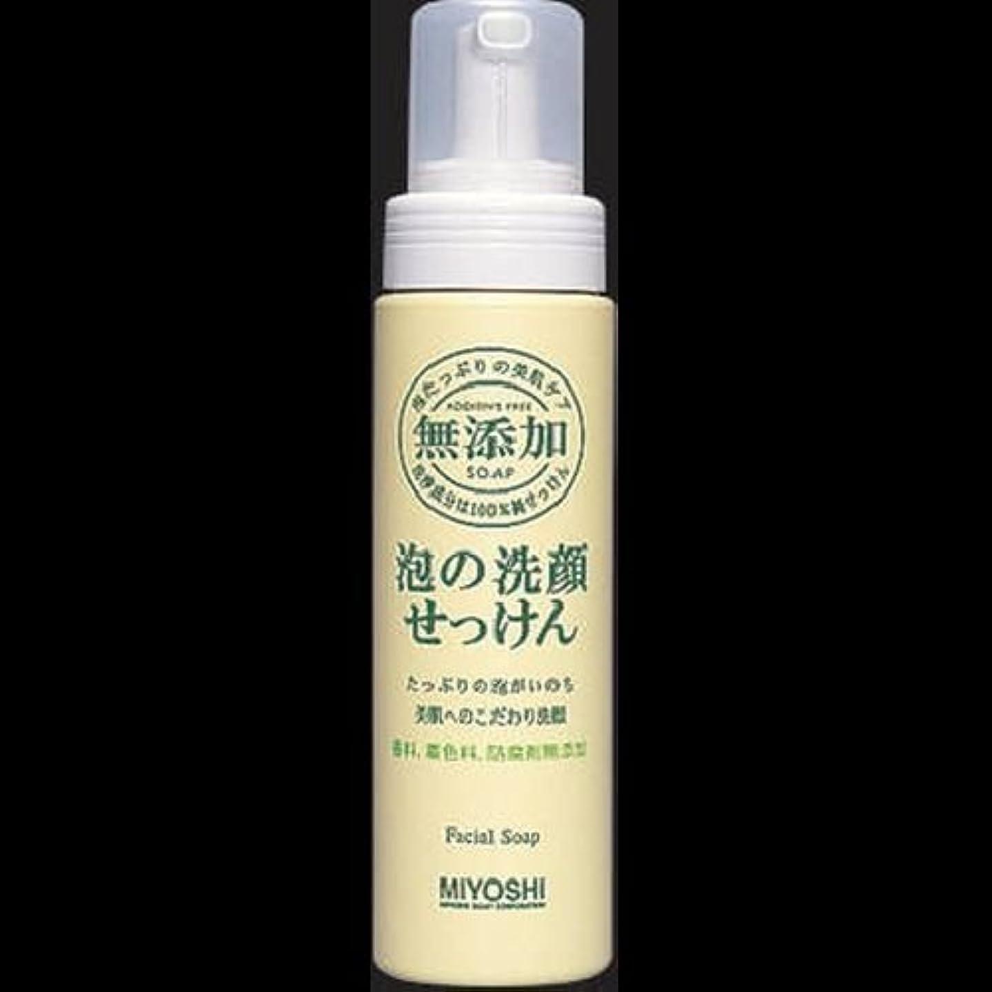 必要ない傷跡まさに【まとめ買い】ミヨシ 無添加 泡の洗顔せっけん ×2セット