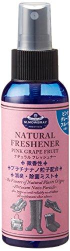 [エム・モゥブレィ プレステージ] M.MOWBRAY Prestigio 消臭スプレー ナチュラルフレッシュナ― 20703 (ピンクグレープフルーツの香り)