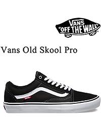 VANS(バンズ) バンズ スニーカー VANS OLD SKOOL PRO BLACK WHITE オールドスクール プロ VANS スニーカー,スケボーシューズ バンズ