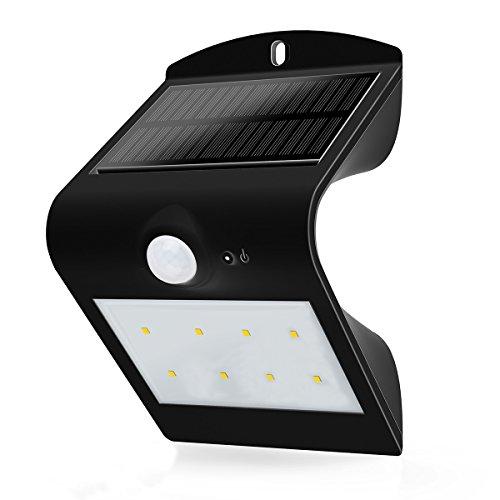 センサーライト ソーラーライト 10LED 防犯ライト 玄関ライト ワイヤレス人感センサー 外灯 壁...