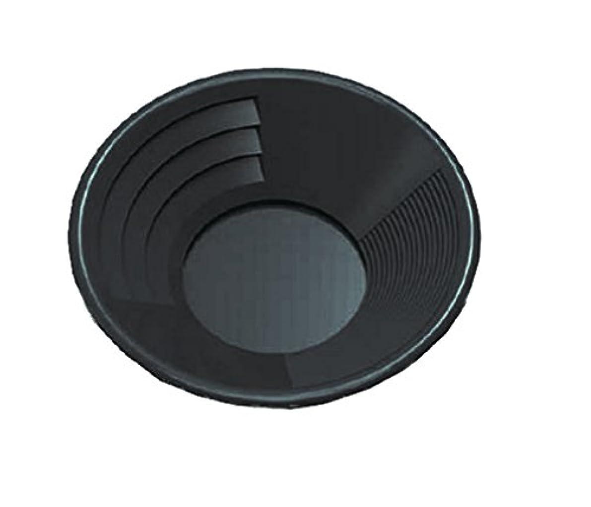 電話デザイナー生産的SE GP1001BL 10-Inch Plastic Gold Mining Pan Black by SE [並行輸入品]