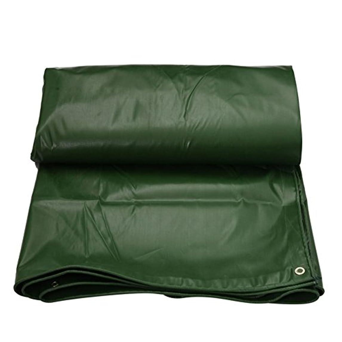 超高層ビル最後に不明瞭19-yiruculture 屋外テント防水シートパッド入り防水日焼け止めテントテント布小屋布耐摩耗性抗酸化軽量pvcグリーン (Color : 緑, サイズ : 2x3M)