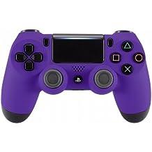 PS4 Dualshock Playstation 4 Wireless Controller Custom Soft Touch New Model JDM-040 (Purple)