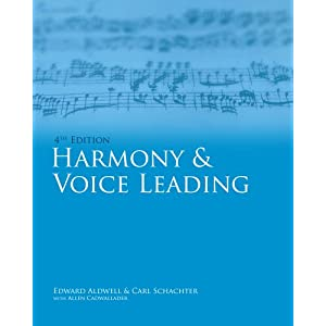 Harmony and Voice Leading + Workbook, Vol. I and II + Audio Cd-rom