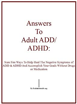 adult add research without drugs