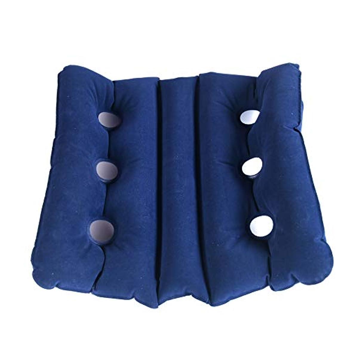 意気揚々スポーツの試合を担当している人レンジマルチ クッション 座布団 エアー ピロー 枕 折りたたみ 超軽量 コンパクト 通気性 アウトドア オフィス 室内 昼寝 キャンプ