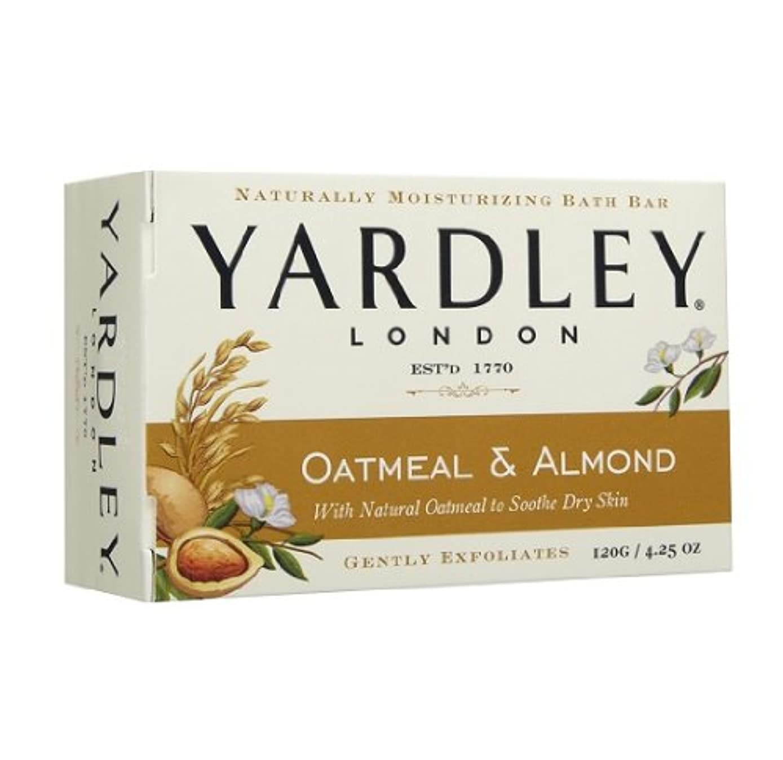 スクリュートランクライブラリ局【2個:ハワイ直送品】Yardley London Oatmean & Almond Moisturizing Bath Bar ヤードリー オートミール&アーモンド ソープ 120g
