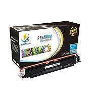 キャッチ装置交換用HP 130Aトナーカートリッジセット black cf350a、シアンcf351a、イエローcf352a、マゼンタcf353a との互換性HP Color LaserJet Pro MFP m176、Color LaserJet Pro m177fw ブルー