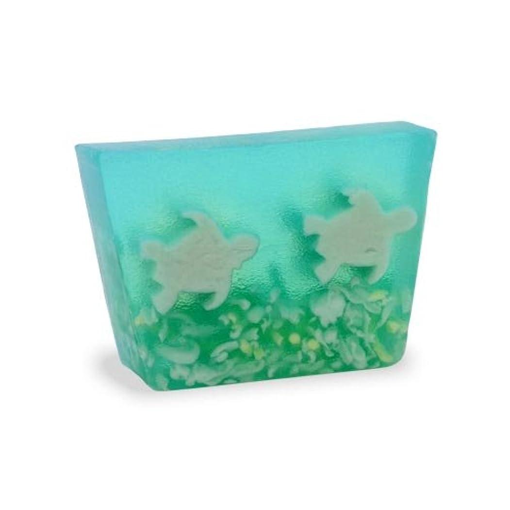 強制的泥扱いやすいプライモールエレメンツ アロマティック ミニソープ シータートルズ 80g 植物性 ナチュラル 石鹸 無添加