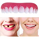 2枚の義歯の上、Flexの化粧品のための適した美しい即刻の歯科ベニヤの笑顔の慰めの歯科入れ歯の歯の上の化粧のベニヤ