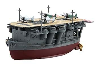 フジミ模型 ちび丸艦隊シリーズ No.22 龍驤 全長約11cm ノンスケール 色分け済み プラモデル ちび丸22