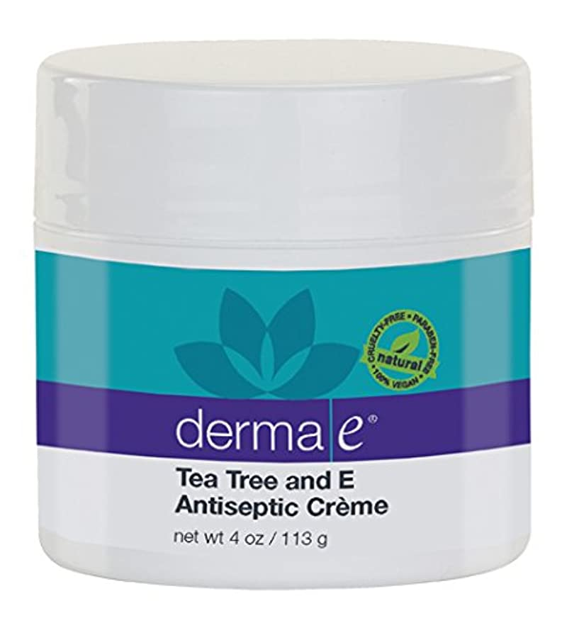 多様性テント反発Derma E Therapeutic Tea Tree & Vitamin E Antiseptic Cream 113g/4oz並行輸入品