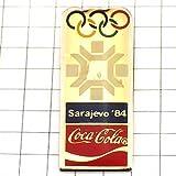 限定 レア ピンバッジ サラエボ1984年オリンピック五輪コカコーラ飲物 ピンズ フランス