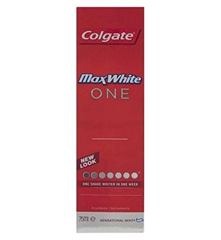 ラグ漏れプログラムColgate Max White One Fresh toothpaste 75ml - コルゲートマックスホワイト1新鮮な歯磨き粉75ミリリットル (Colgate) [並行輸入品]