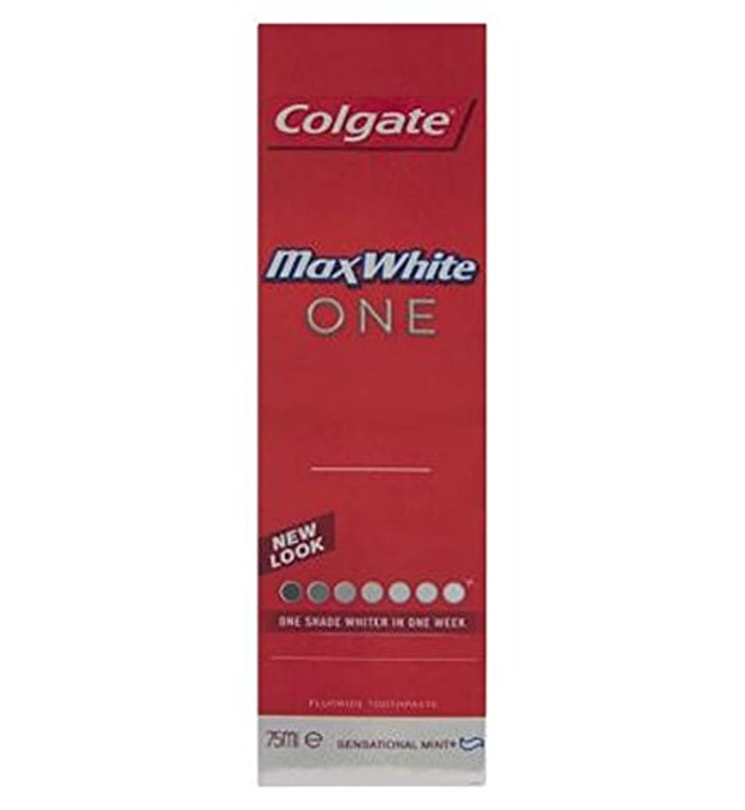 肥満ハンカチカウボーイコルゲートマックスホワイト1新鮮な歯磨き粉75ミリリットル (Colgate) (x2) - Colgate Max White One Fresh toothpaste 75ml (Pack of 2) [並行輸入品]